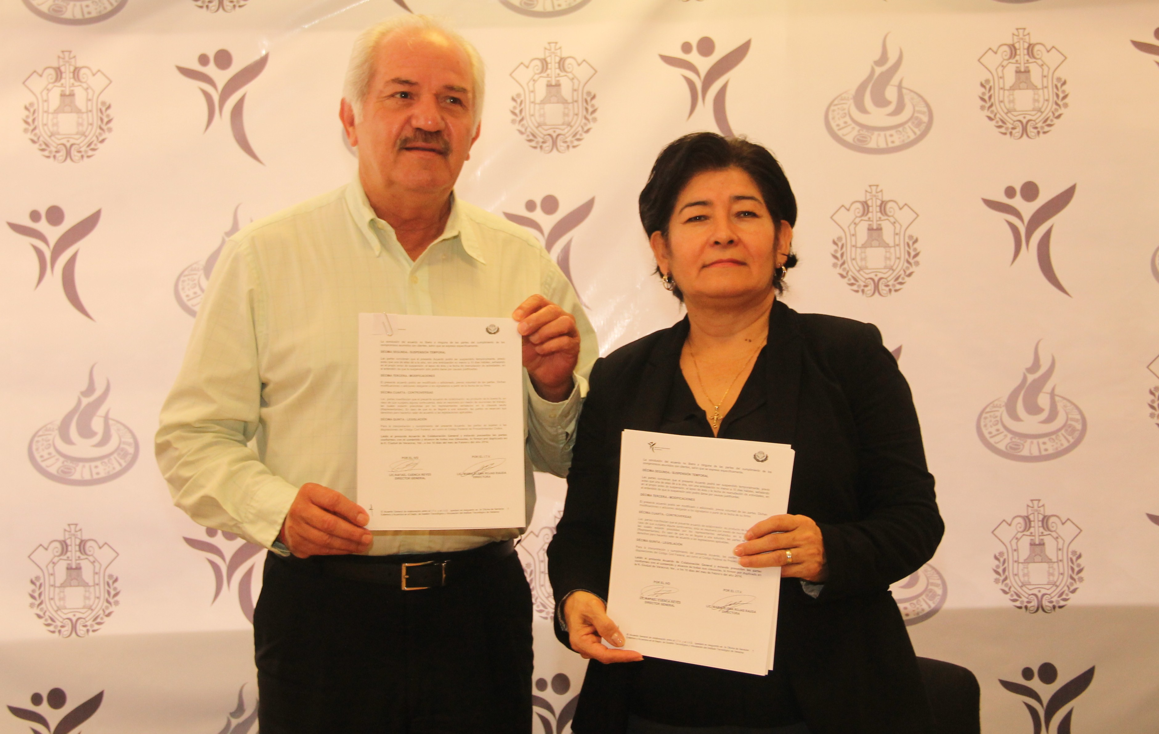 Firma IVD convenio con Tecnológico de Veracruz
