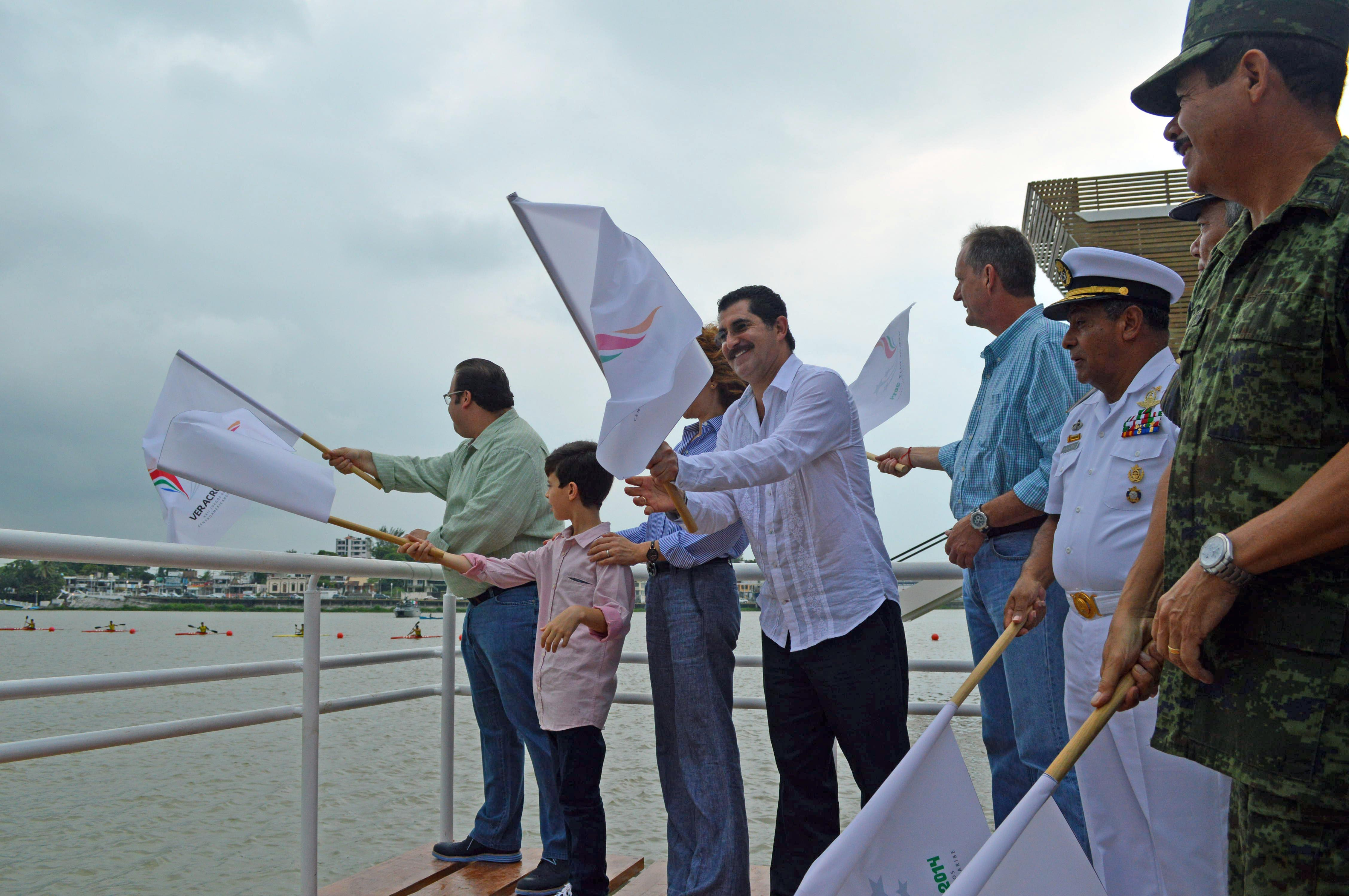 Entregan pista de Canotaje para Veracruz 2014