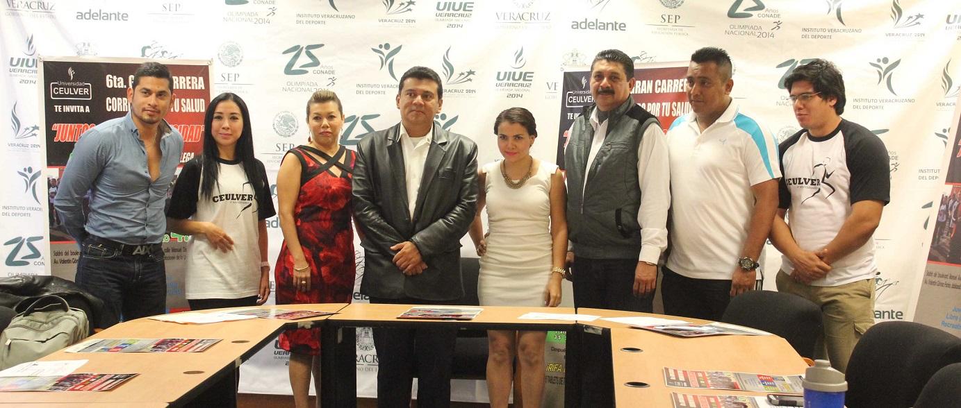 """Carrera CEULVER """"Juntos contra la obesidad"""""""