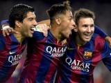 Barcelona golea a Getafe con doblete de Suárez y Messi