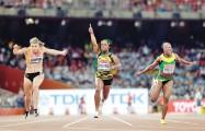 Shelly-Ann Fraser revalida su título en el Mundial de Atletismo