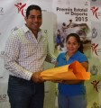 Entrega IVD expedientes a jurado del Premio Estatal del Deporte 2015