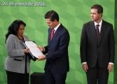 Reciben Grajales, Chimal y Miranda el Premio Nacional de Deportes 2015
