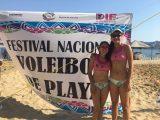 Coatzacoalcos destaca en el campeonato nacional juvenil de voleibol de playa