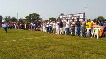 Liga municipal infantil y juvenil de fútbol de Coatzacoalcos realizó magna inauguración de la temporada 2017