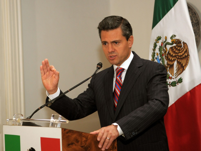 Enrique Peña Nieto promulga la Ley de Amparo