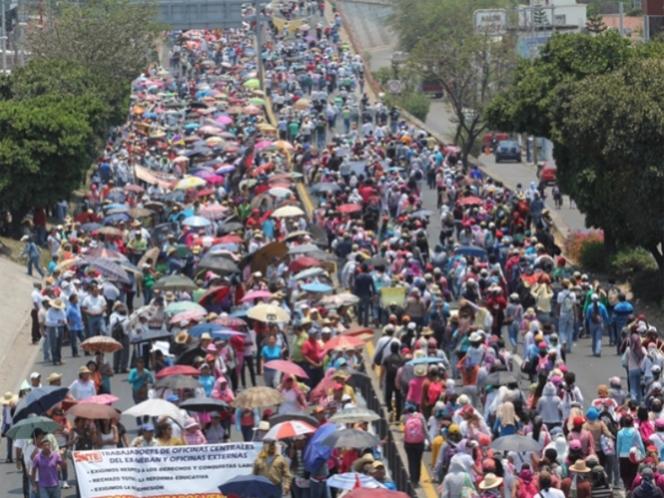 CETEG libera la Autopista del Sol y Congreso de Guerrero