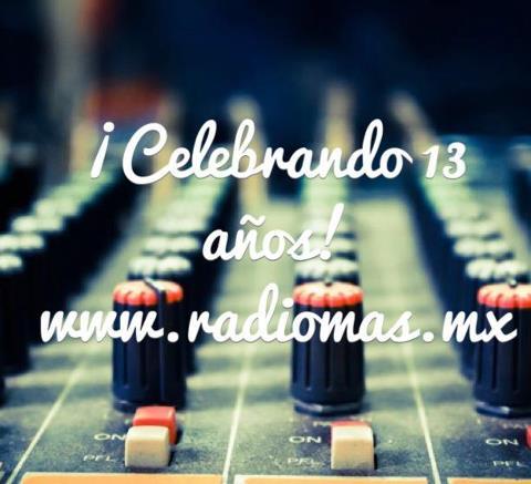 RadioMás celebra 13 años al aire con nueva imagen sonora