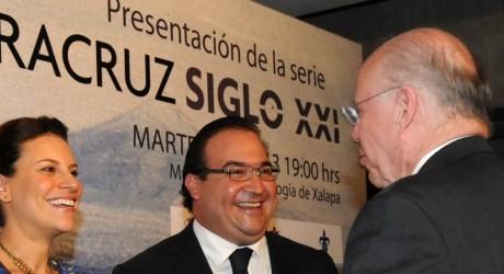 Felicita Rector de la UNAM al gobernador Javier Duarte por impulso a la cultura
