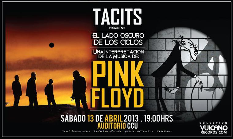 En Puebla, The Tacits presenta una interpretación de la música de Pink Floyd