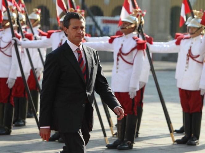 Pacto por México, importante para procesar cambios: Peña