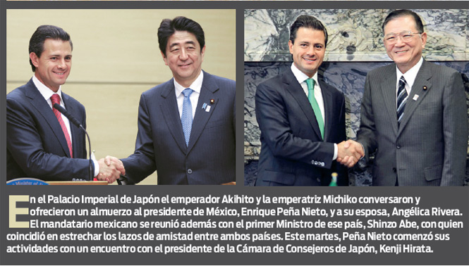 México y Japón ofrecen labor conjunta anticrimen