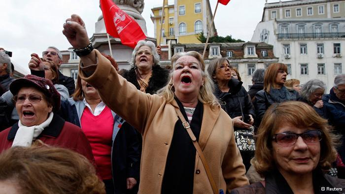 Arrecia la crisis en Portugal