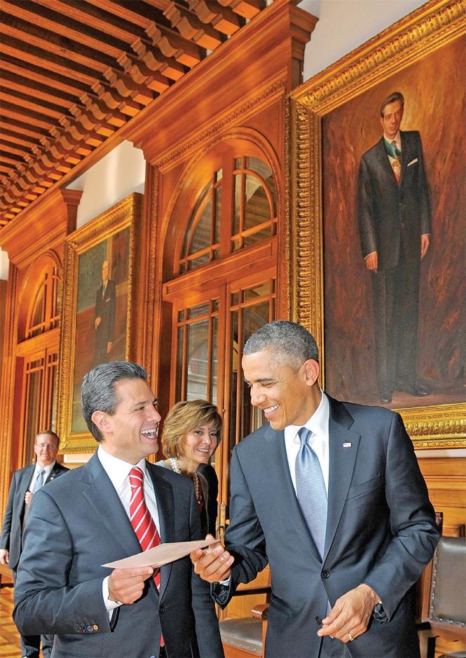 Seguridad, asunto de México: Obama; grupo de alto nivel relanzará relación comercial