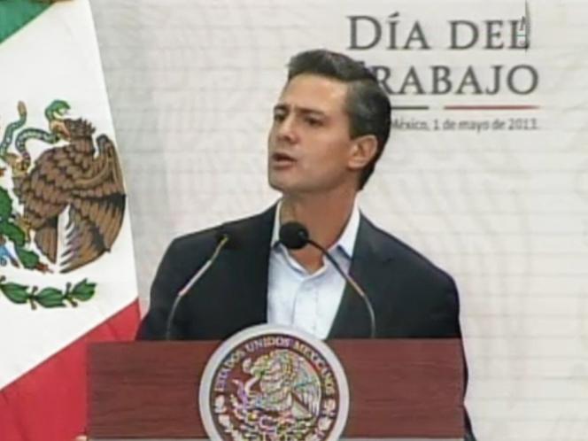 Es hora de democratizar la productividad: Peña Nieto