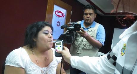Informa DGTE a periodistas sobre implementación de programas viales en Coatzacoalcos