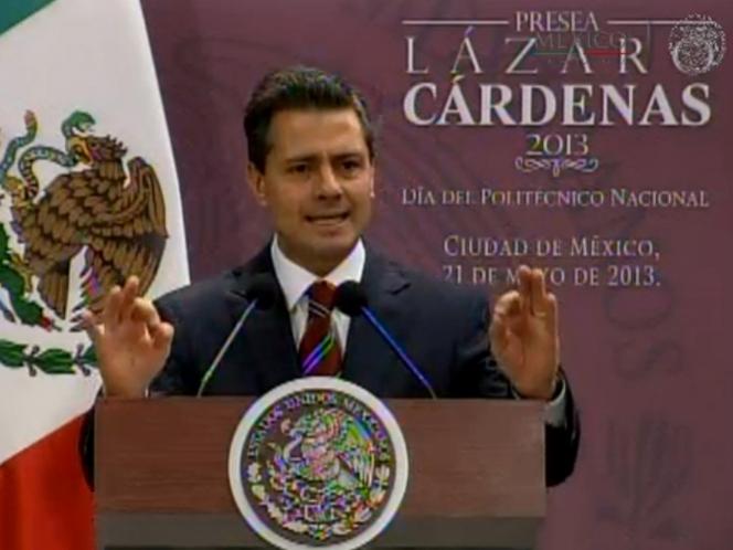 Más ciencia y tecnología para abrir puerta a la productividad: Peña Nieto