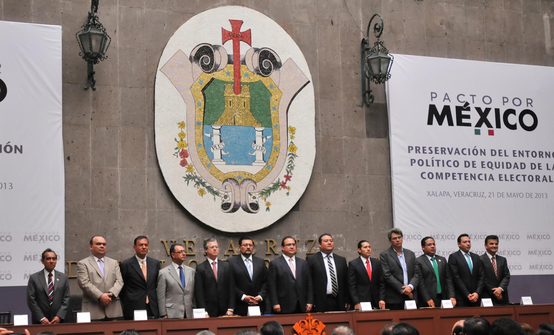 Reconocen partidos políticos apertura y espíritu democrático en Veracruz
