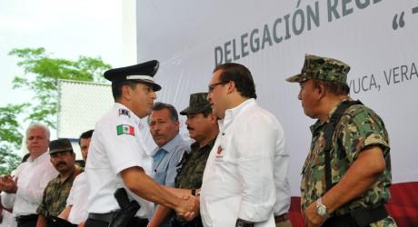 Con nueva Delegación de la SSP, brindamos más seguridad al norte de Veracruz: Javier Duarte