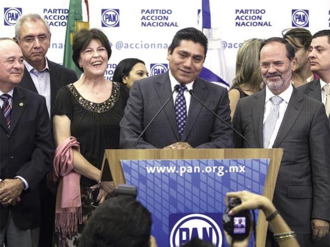 El nuevo coordinador panista es Jorge Luis Preciado