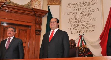 Veracruz, a la vanguardia en la tarea de garantizar el acceso a la justicia: Javier Duarte