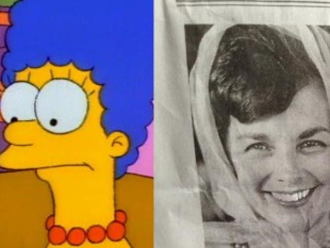 La mujer que inspiró a Marge Simpson