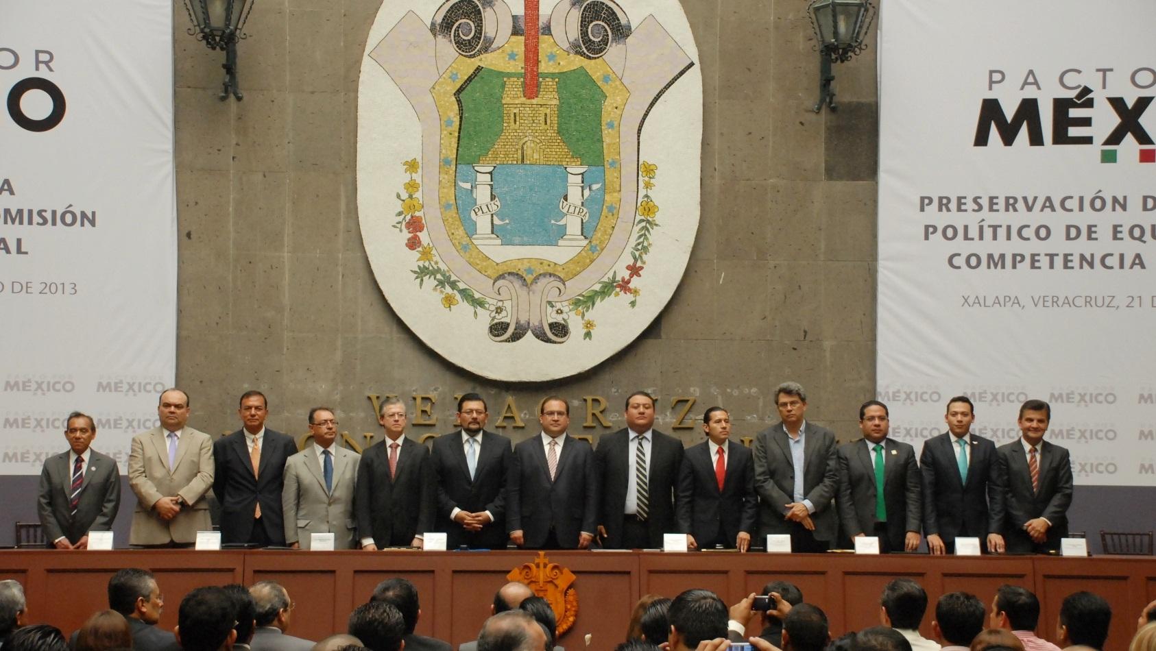 Pacto por Veracruz garantizará elecciones tranquilas, con equidad y respeto