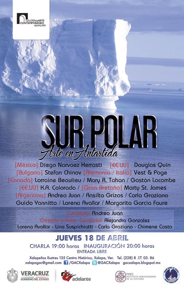 Exhibe Galería de Arte Contemporáneo la muestra colectiva Sur Polar, Arte en Antártida