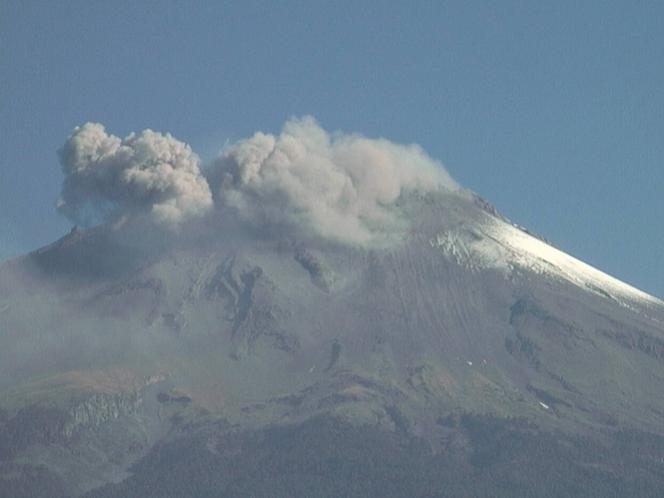 Cenapred registra dos sismos vulcanotectónicos en el Popocatépetl
