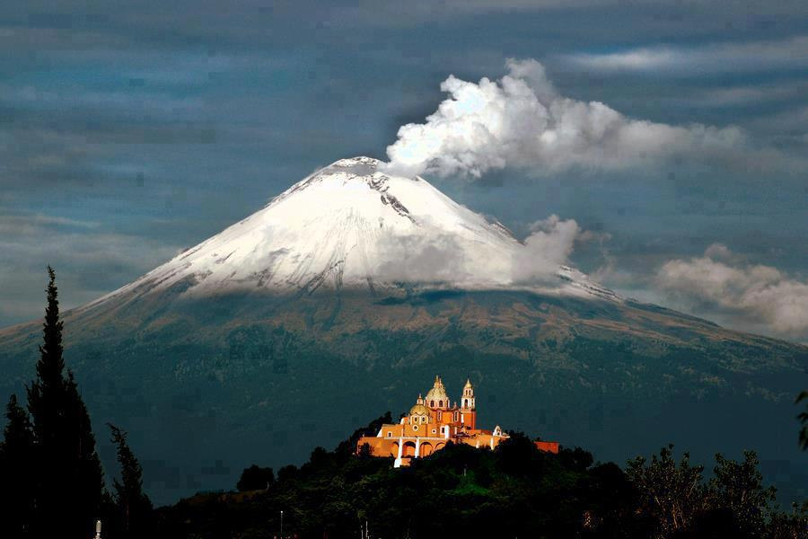 Veracruz, listo para apoyar en posibles contingencias por erupción de Popocatépetl: SPC