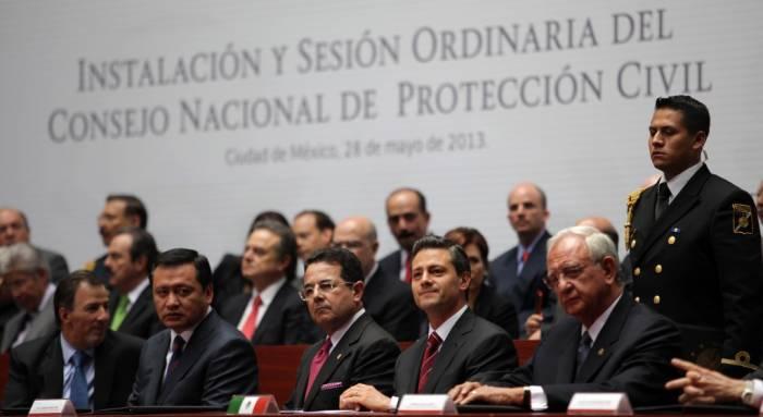 Estrategia de Protección Civil, parte de la seguridad nacional: EPN