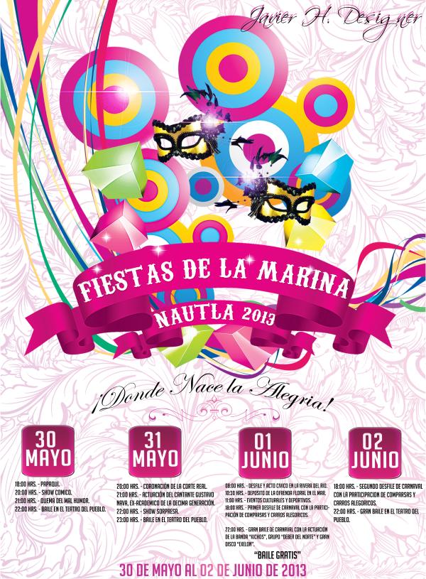Fiestas de la Marina Nautla 2013, del 30 de mayo al 2 de junio