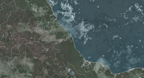 Continuarán nublados y lluvias en las zonas sur y de montaña