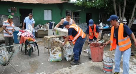 Continúa SSP brindando apoyo a población afectada en Úrsulo Galván y Actopan