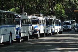 Autobuses con más de quince años de servicio serán retirados de circulación