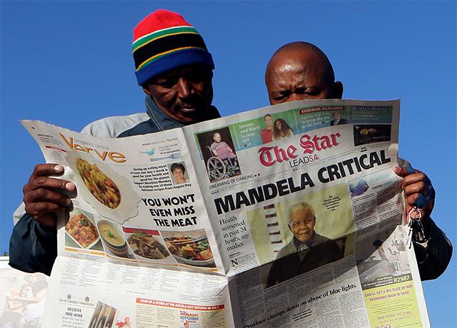 Nelson Mandela sigue en estado muy grave