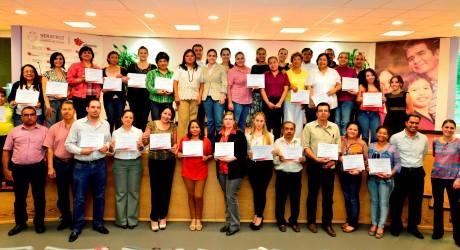 Imparte Aveli Curso de Náhuatl a los 23 voluntariados del DIF Estatal