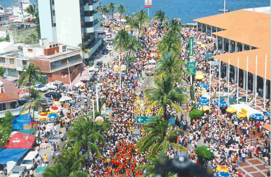 En Veracruz el Carnaval de Verano