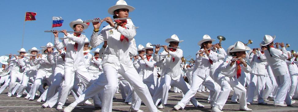 Delfines Marching Band viajarán a Europa para participar en encuentros mundiales de música