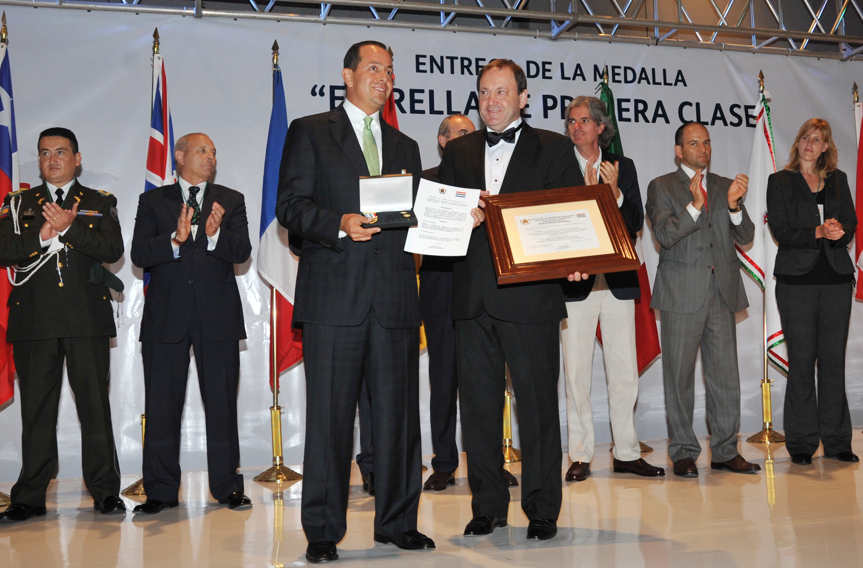 Otorgan a Veracruz reconocimiento internacional por su trabajo en materia de seguridad