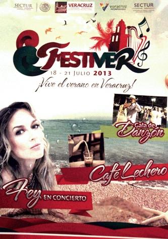Este fin de semana se llevará a cabo el Festiver 2013 en la ciudad de Veracruz