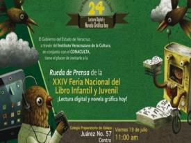 La XXIV Feria del Libro Infantil y Juvenil de Xalapa se actualiza; ahora dedicada al libro electrónico y la novela gráfica