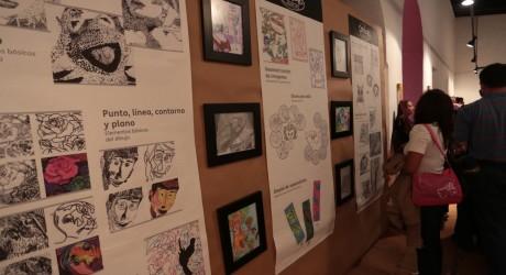 Concluye taller de gráfica y dibujo Garabatos, impartido por la SEV