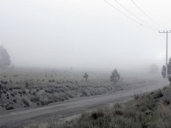 Recorren comunidades de Morelos cercanas al volcán Popocatépetl