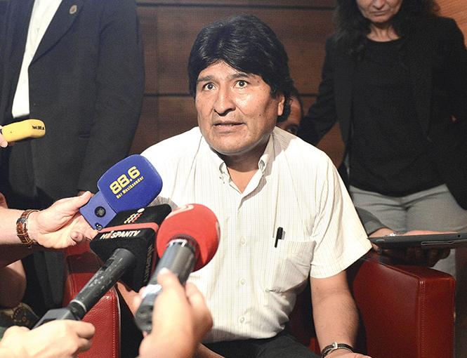 Juzgado boliviano avala nueva candidatura presidencial de Evo Morales