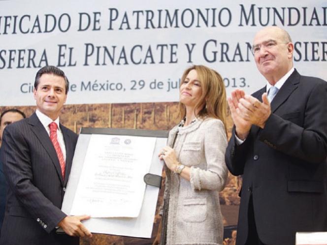 México destaca como patrimonio mundial