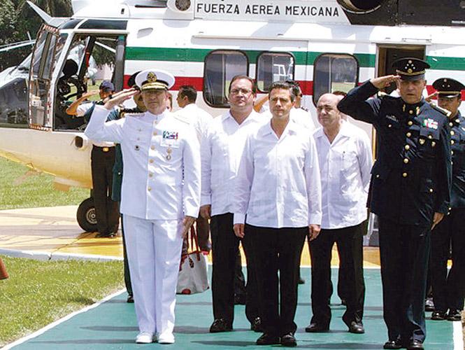 """Reforzaremos Michoacán, el objetivo, """"recuperación territorial"""": Enrique Peña Nieto"""