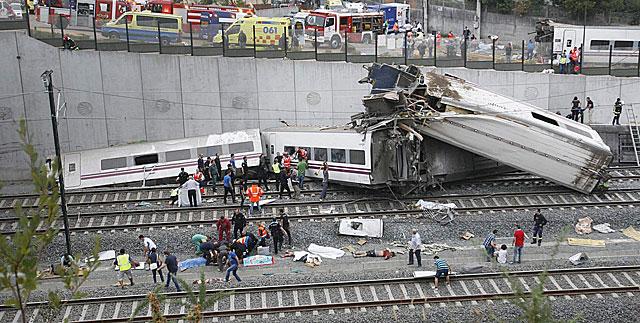Devastador accidente en España (video)