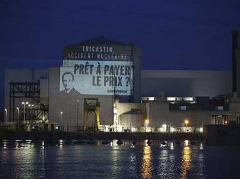 Greenpeace vuelve a probar la vulnerabilidad de las centrales nucleares