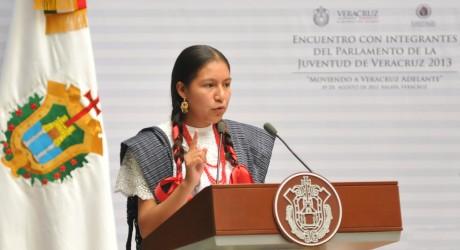 Veracruz celebra con acciones el Día Internacional de los Pueblos Indígenas: Parlamento de la Juventud
